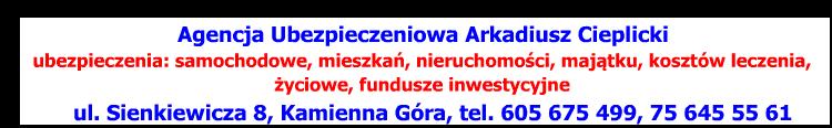 Agencja ubezpieczeniowa - A. Cieplicki