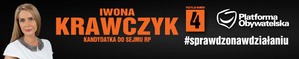 I> Krawczyk - materiał wyborczy sfinansowany przez KW Platforma Obywatelska RP
