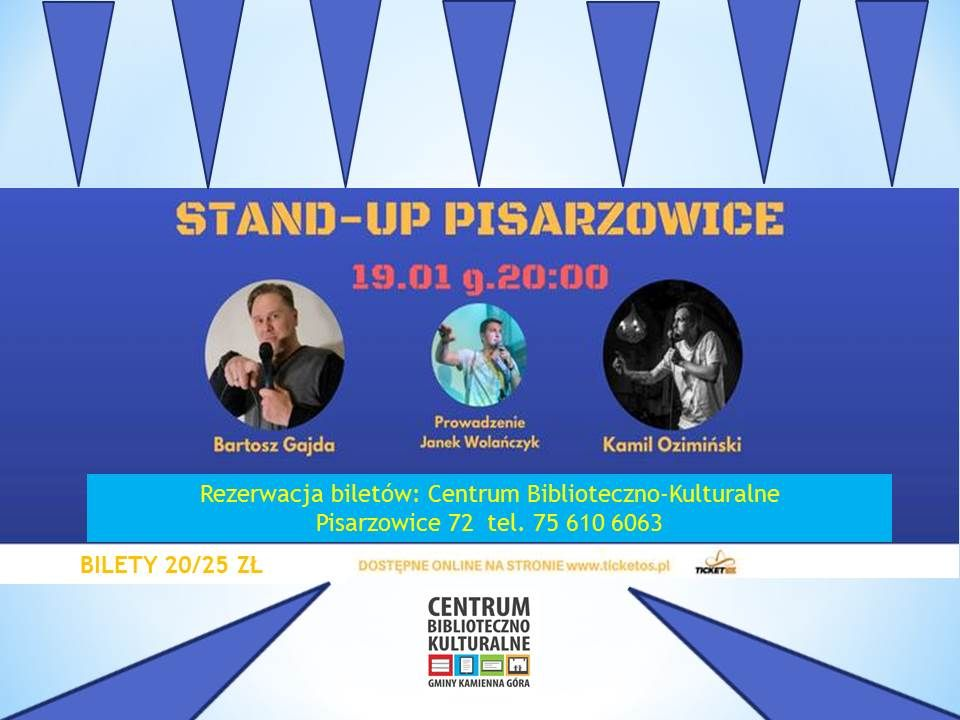 stand-up - Pisarzowice