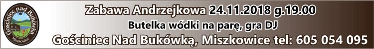 Andrzejki - Gościniec nad Bukówką
